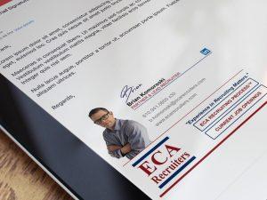 تصميم توقيع البريد الالكتروني Email Signature ميديافيك