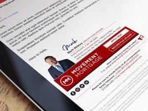نموذج توقيع البريد الالكتروني