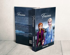 نموذج غلاف كتاب او مجلة