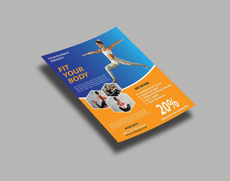 نموذج نشرة إعلانية